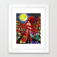 The Search for Water... Framed Art Print