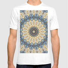 Ascending Soul SMALL Mens Fitted Tee White