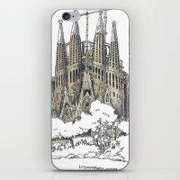 Sagrada Familia, Barcelona iPhone & iPod Skin