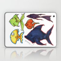 Fishy Fishes Laptop & iPad Skin