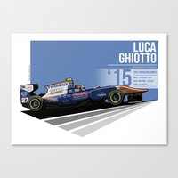 Luca Ghiotto - 2015 Spa Canvas Print