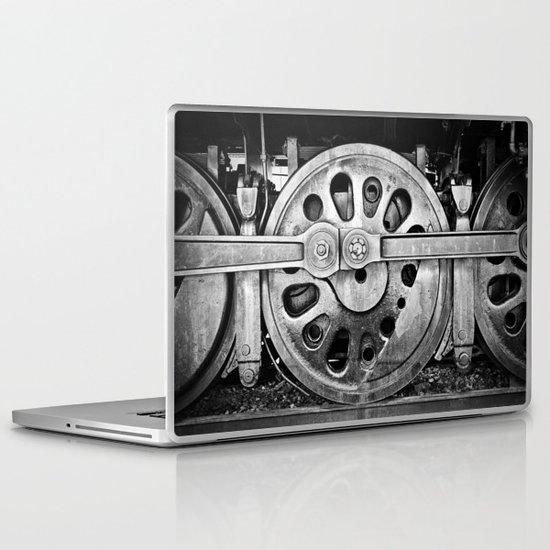 Round and Round Laptop & iPad Skin