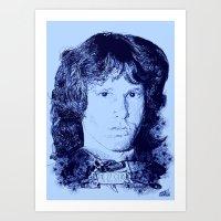 27 Club - Morrison Art Print