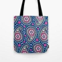 Paisley Confetti Tote Bag