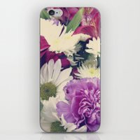 Timeless {Flower Floral … iPhone & iPod Skin