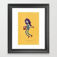 The Vampire Queen Framed Art Print