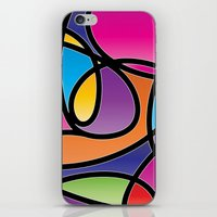 Loops Color 2 iPhone & iPod Skin