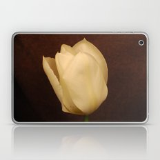 white tulip Laptop & iPad Skin