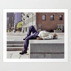 boston strangled?.. Art Print