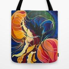Jellyfish in the Ocean Tote Bag