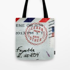 Take Care of Each Other, Part 4 Tote Bag