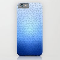 Blue Stained Glass  iPhone 6 Slim Case