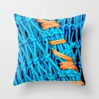 Fishing Net Throw Pillow