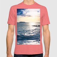 Conference in the Clouds Mens Fitted Tee Pomegranate SMALL