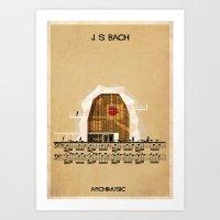 J. S. Bach Art Print