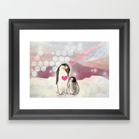 Together Framed Art Print