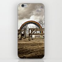 Something Wicked This Way Comes iPhone & iPod Skin