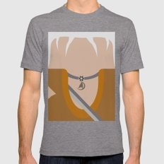 Khan Noonien Singh - The… Mens Fitted Tee Tri-Grey SMALL