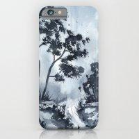 Blue Landscape  iPhone 6 Slim Case