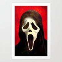 Scream - for iphone Art Print