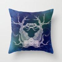 Tree Girl Series 9 Throw Pillow