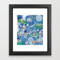Dream Boats Framed Art Print