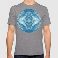 Beautiful cloud kaleidoscope Mens Fitted Tee Tri-Grey SMALL