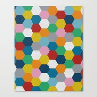 Honeycomb 2 Canvas Print