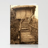 South Indian Treehouse Stationery Cards