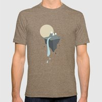 Mountain Mens Fitted Tee Tri-Coffee SMALL