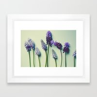 She Liked Everything in it's Place Framed Art Print