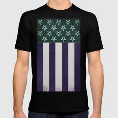 'Murica Hell Yeah SMALL Black Mens Fitted Tee