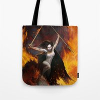 Frazetta Tribute Tote Bag
