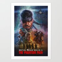 MGS: The Poster Edition  Art Print