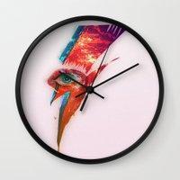 Glam Tear Wall Clock