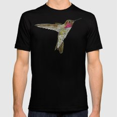 Hummingbird Ayre SMALL Mens Fitted Tee Black