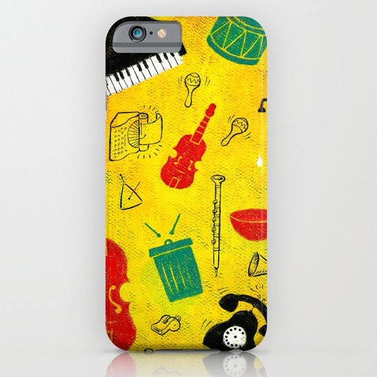 Music and Noise iPhone & iPod Case