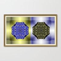 Mandalas Canvas Print