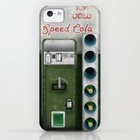 iPhone 5c Cases featuring Speed Cola by Head Glitch