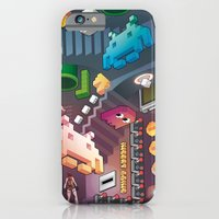 iPhone & iPod Case featuring Lost in videogames by Matteo Cuccato