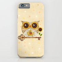 iPhone & iPod Case featuring Owl's Autumn Song by Sandra Vargas