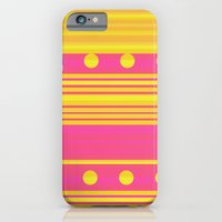 Pink and Gold iPhone 6 Slim Case