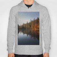 Mirrored Lake In Fall Hoody