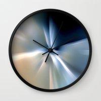 Blue Splash Wall Clock