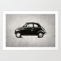 vintage dream car Art Print