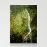 Li River Waterfall Stationery Cards