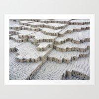 Pyramid In Lima Art Print