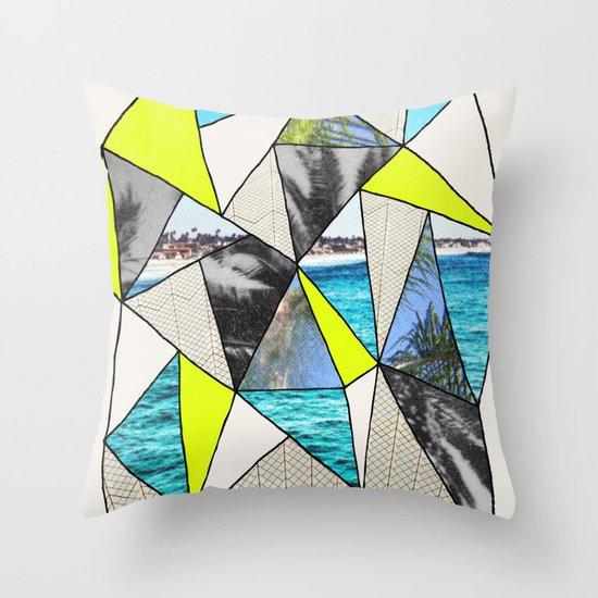 PALM POINT Throw Pillow