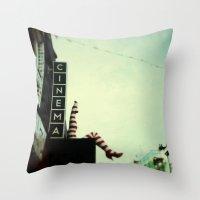 Cinema Throw Pillow