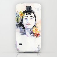 Galaxy S5 Cases featuring A new morning by agnes-cecile